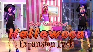 GAMING: Barbie Fashion Closet | Halloween Expansion Pack | ALL NEW Fashion
