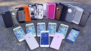 getlinkyoutube.com-Top 12 iPhone 6S Cases Drop Test Part 2! Most Durable iPhone 6S Case?