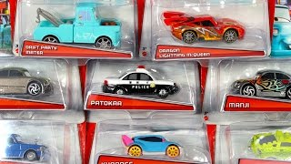 getlinkyoutube.com-DISNEY PIXAR TOKYO MATER DRIFT PARTY COLLECTION KYANDEE DRAGON LIGHTNING TALL TALES CARS TOON