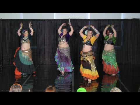 Blue Amber ATS® Belly Dance Cues & Tattoos 2017