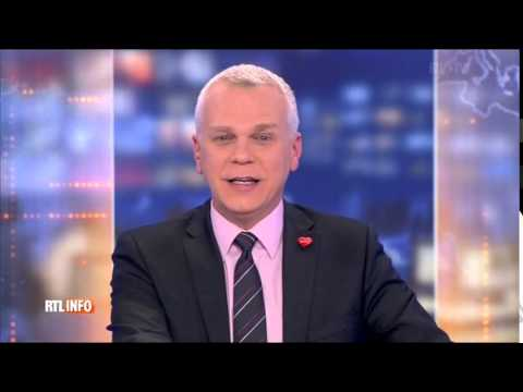 The first names of Brussels Summer Festival on RTL TVI national news