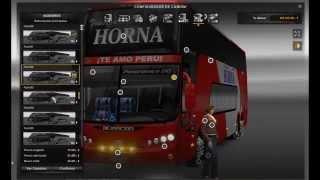 getlinkyoutube.com-Euro Truck Simulator 2 MOD BUS Peruano - Panoramico DD 8x2 K400