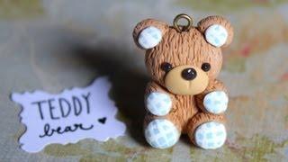 getlinkyoutube.com-DIY Teddy Bear {Stop Motion Tutorial} Polymer Clay Charm