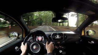 getlinkyoutube.com-2016 Abarth 595 Competizione - POV Drive & pure sound