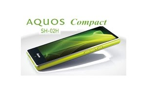 getlinkyoutube.com-The Sharp Aquos Compact SH-02H - Snapdragon 808 processor