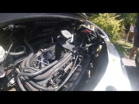 Как снять впускной коллектор/How to remove the intake manifold Ford Transit