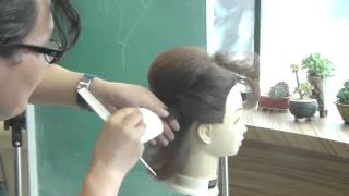 getlinkyoutube.com-959 짧은머리 하위 양감 롤 기법
