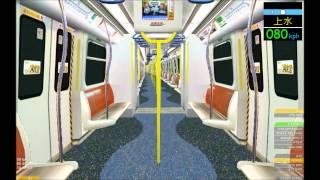 getlinkyoutube.com-OpenBVE HD: KCR/MTR SP1900 East Rail Line Train Vestibule Action (Hung Hom; Sheung Shui-Lok Ma Chau)