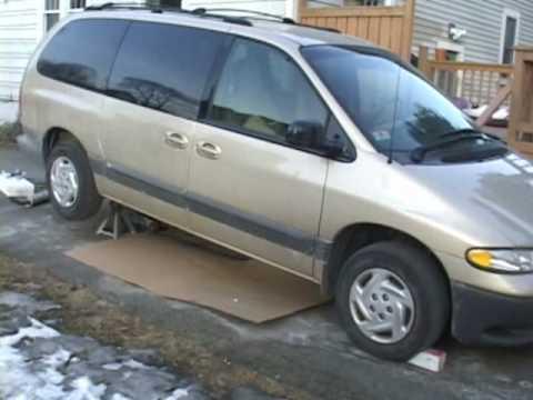 2000 dodge caravan repair manual pdf