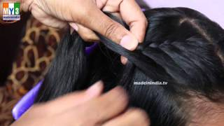 getlinkyoutube.com-AMAZING INDIAN HAIR STYLES | Traditional Hairstyles for Indian Girls |