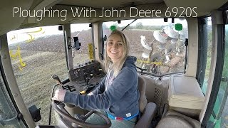 getlinkyoutube.com-Leanne Ploughing With John Deere 6920S - 4K