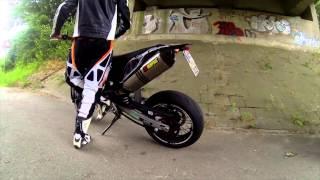 getlinkyoutube.com-Akrapovic Slip-On Soundcheck without killer KTM 690 (HDHERO3)