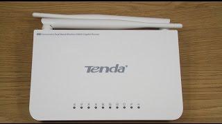 ضبط اعدادات راوتر Tenda