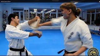 getlinkyoutube.com-каратэ против бокса  Karate vs. Boxing