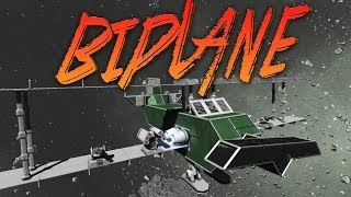 getlinkyoutube.com-Space Engineers Gameplay: Space BiPlane!