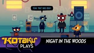 getlinkyoutube.com-Kotaku Plays Night In The Woods' Rhythm Game