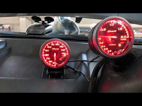 Nissan Skyline R34 RB25DET: Установка датчика температуры масла