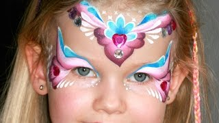 getlinkyoutube.com-Maquillage de  princesse des coeurs - Tutoriel maquillage des enfants