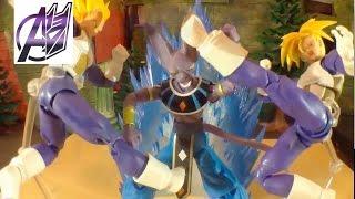 getlinkyoutube.com-Dragonball Z [Stop Motion Film] Vegeta & Trunks vs Lord Beerus