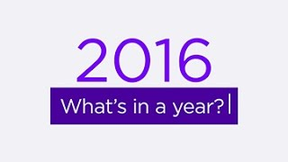 2016 Year in Review Top Searches