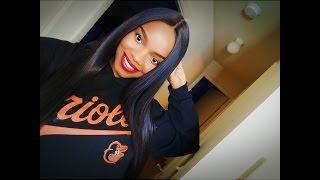 getlinkyoutube.com-$29 Quick & Sleek Bone Straight Hair: R&B All Around Lace Wig Ubangi