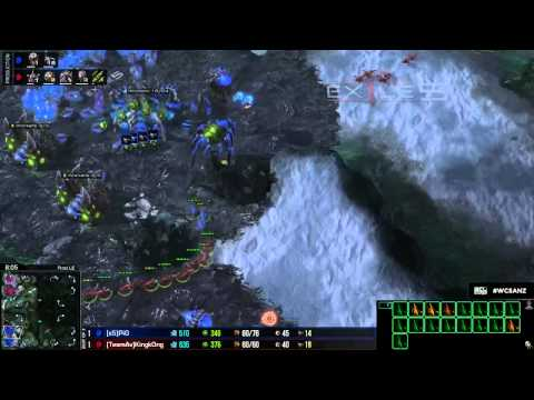 WCS S2 SEA/OCE Quals: Game 3 - X5.PiG vs Av.KingKong - 1 / 2
