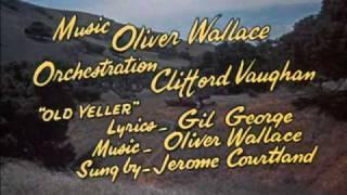 getlinkyoutube.com-Old Yeller (1957 ) - Opening Song - High Quality