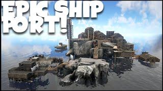 getlinkyoutube.com-ARK Survival Evolved Gameplay #53 Epic Ship Port! Help me pick a name!