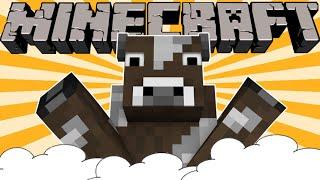 If Cows Took Over Minecraft - Minecraft Machinima