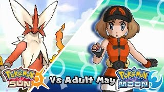 getlinkyoutube.com-Pokémon Champion Title Challenge 35: Adult May (Game Edited)
