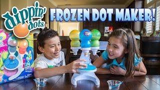 getlinkyoutube.com-DIPPIN' DOTS Frozen Dot Maker with Pop Pens! FUN & FAILS!