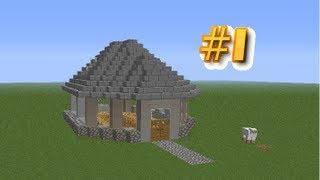getlinkyoutube.com-Budowanie Domu #1 z NieN0rmalną w Majnkraft 1/2