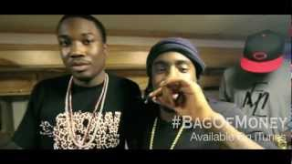 Meek Mill, Wale & French Montana - Freestyle Cypher On Set Of Bag Of Money