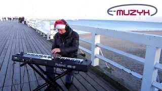 getlinkyoutube.com-Roland BK 9 demo wigilijne nagrane na Molo w Sopocie