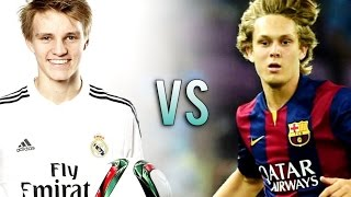 getlinkyoutube.com-Martin Ødegaard vs Alen Halilovic | Duel Skills and Goal