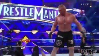 getlinkyoutube.com-Undertaker vs Brock Lesnar Wrestlemania 30 Highlights