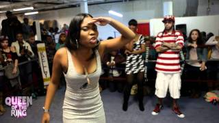 "getlinkyoutube.com-BABS BUNNY & VAGUE presents  ""QUEEN OF THE RING""  JAZ THE RAPPER -vs- CHAYNA ASHLEY #The1st48"