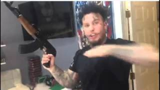 getlinkyoutube.com-#Stitches THREATENS The Game with an AK47 gun on VIDEO! Rapper claims #TheGame is a fake blood!