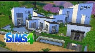 getlinkyoutube.com-Sims 4 Speed Build - Stratford House  'Modern Mansion'