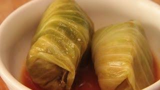 getlinkyoutube.com-Domowy Przepis, Przepyszne gołąbki z mięsem i ryżem, Jak przygotować smaczne gołąbki ?