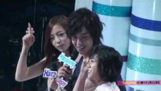 getlinkyoutube.com-[FANCAM] 100612 MC Kim Hyun Joong & Seungyeon,Hara (KARA)