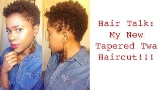 getlinkyoutube.com-My new Tapered Twa Haircut!!!  Mona B.