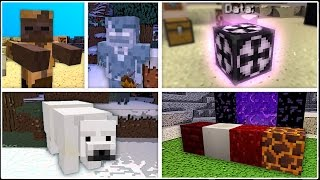 getlinkyoutube.com-Minecraft has 3 New Mobs, 4 New Blocks, Fossils, and More!