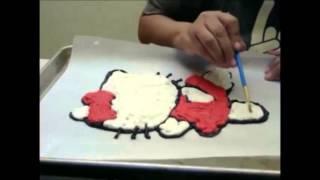 getlinkyoutube.com-How to make a butter cream cake transfer