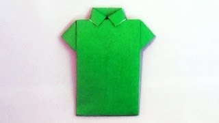 getlinkyoutube.com-Origami Shirt