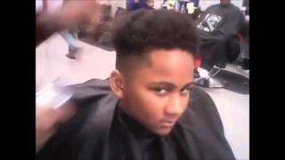 getlinkyoutube.com-Short Natural Boys Hair : Haircut Update