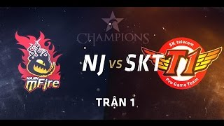 getlinkyoutube.com-[12.08.2015] NJ vs SKT [LCK Mùa Hè 2015][Trận 1]