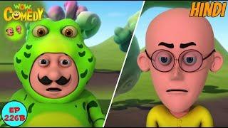 Motu Patlu In Frog World - Motu Patlu in Hindi - 3D Animated cartoon series for kids - As on nick
