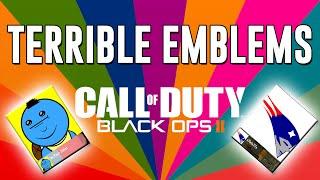 getlinkyoutube.com-Terrible Emblems #20 (Funny Black Ops 2 Emblems + Emblem Challenge!)