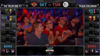 getlinkyoutube.com-TSM vs SKT | Bjergsen vs Faker - MSI 2015 (Full Game) Day 1